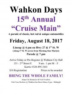 Car Cruise Day 2017 Flyer
