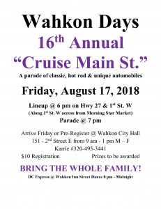Car Cruise Day 2018 Flyer