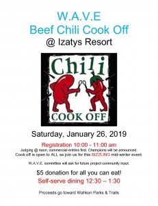 chili cookoff 2019 flyer